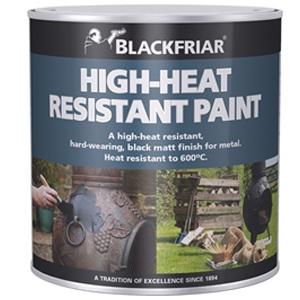 Heat Resistant Paint Black 500ml