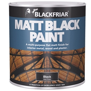 Matt Black Paint 500ml
