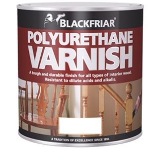 Polyurethane Varnish P65 Dark Mahogany Gloss 500ml