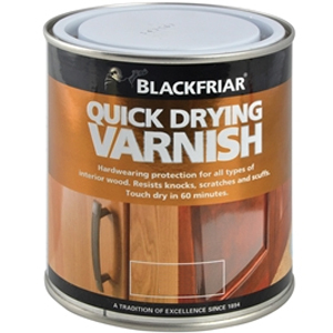 Quick Drying Duratough Interio r Varnish Clear Satin 500ml
