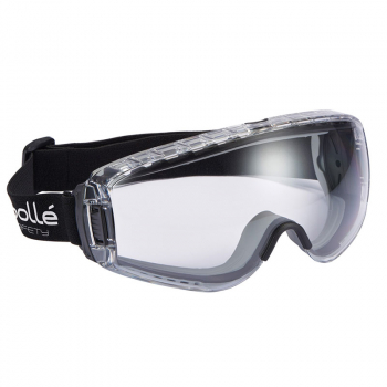 PILOT PLATINUM Ventilated Saf ety Goggles - Clear