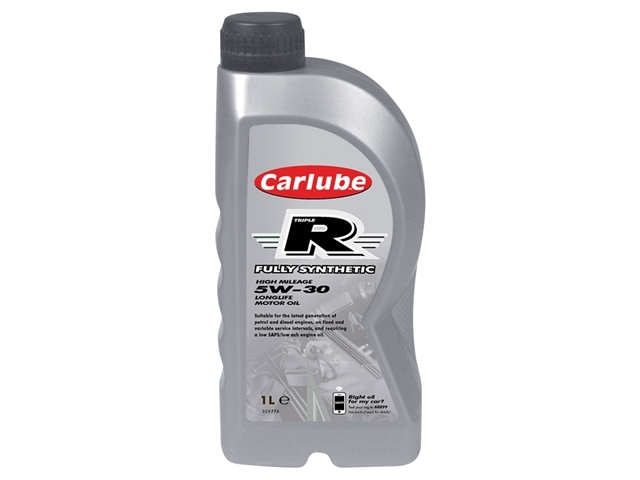 Triple R 5W-30 Fully Synthetic Oil 1 Litre