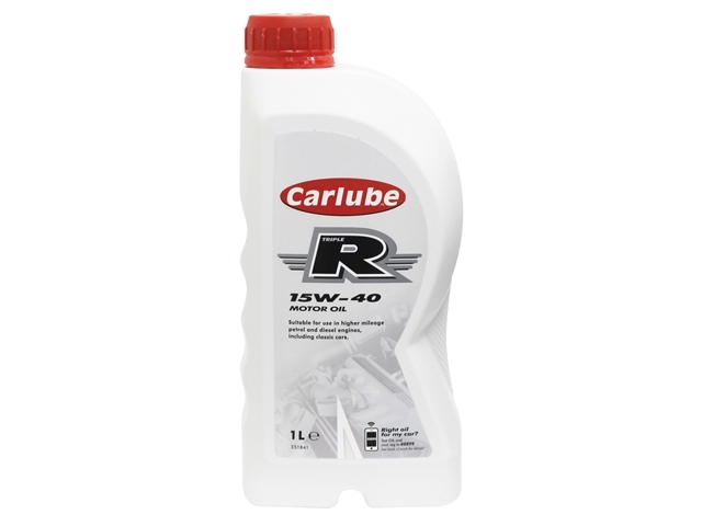 Triple R 15W-40 High Mileage Oil 1 Litre