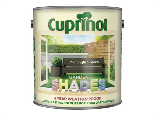 Garden Shades Old English Green 2.5 Litre