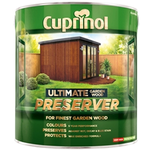 Ultimate Garden Wood Preserver Autumn Brown 1 litre