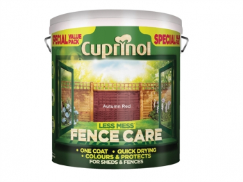 Less Mess Fence Care Autumn Red 6 Litre