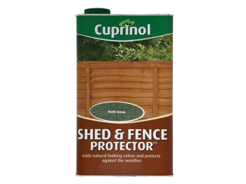Shed & Fence Protector Rustic Green 5 Litre