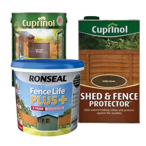 Spray Fence Treatment Autumn Brown 5 Litre