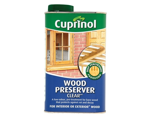 Wood Preserver Clear 1 Litre