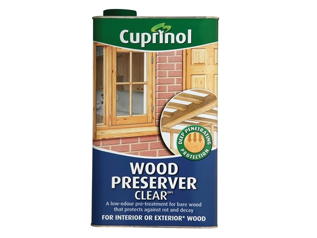 Wood Preserver Clear 5 Litre