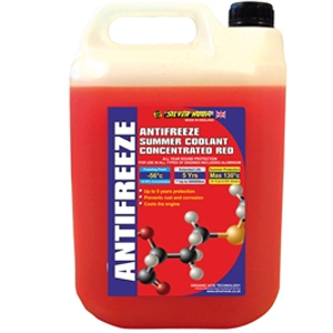 Concentrated Red Antifreeze O.A.T. 4.5 litre