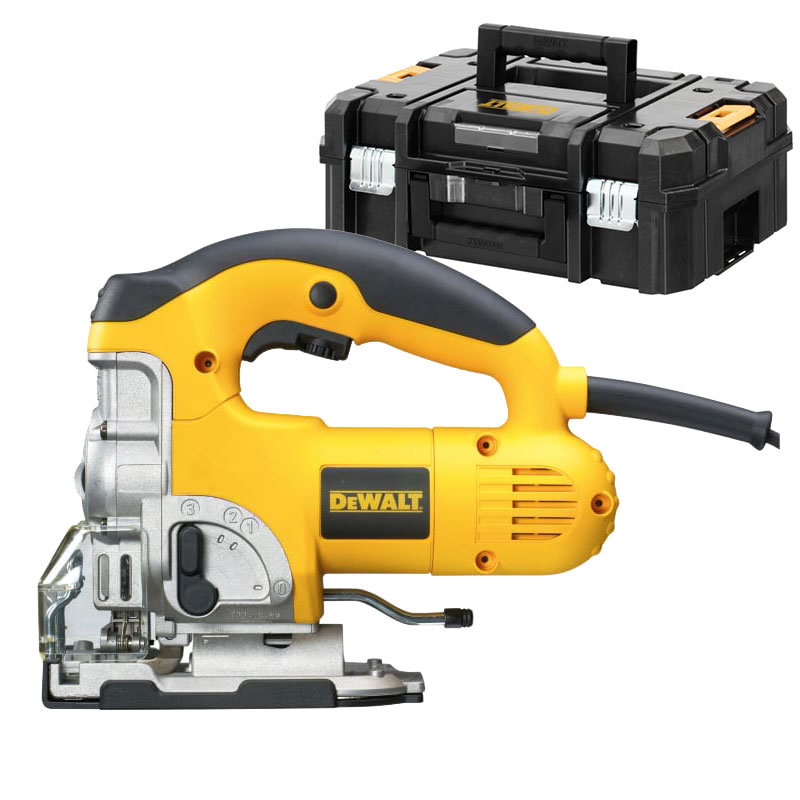 DW331KT Heavy-Duty Jigsaw With TSTAK 701W 240V