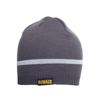 Knitted Beanie Hat - Grey