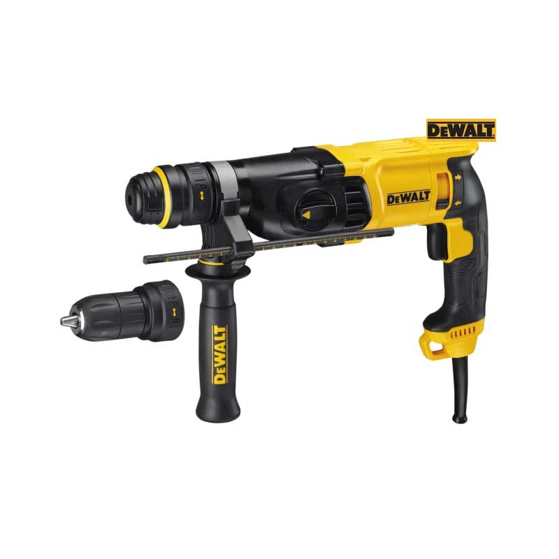 D25134KL SDS Plus 3 Mode QCC Hammer Drill 800W 110V