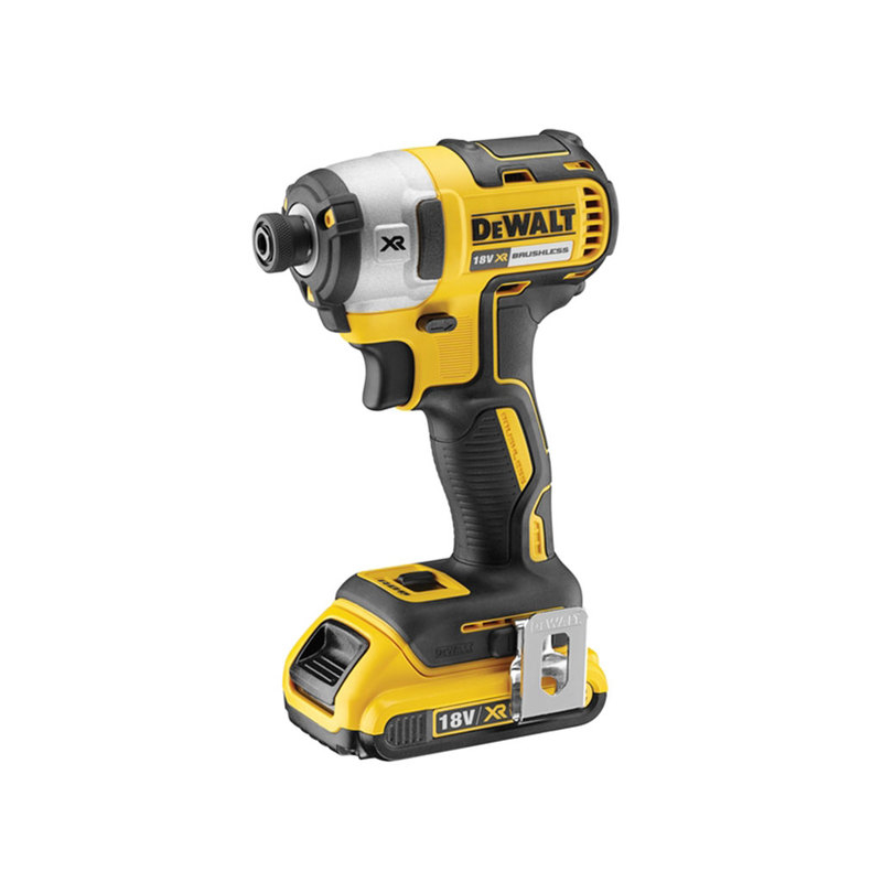 DCF887D2 XR Brushless 3 Speed Impact Driver 18V 2 x 2.0Ah Li