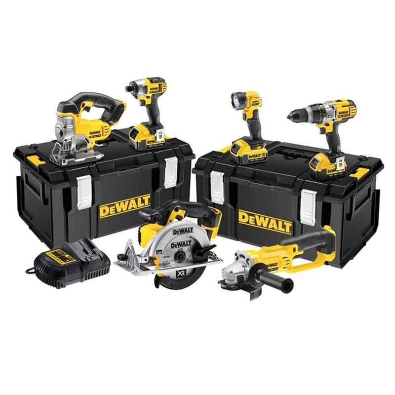 DCK692M3 Cordless 3 Speed 6 Piece Kit 18V 3 x 4.0Ah Li-Ion