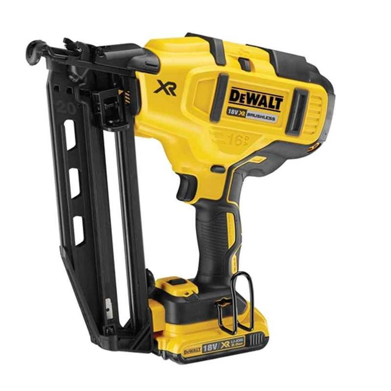 DCN660N Cordless XR Brushless Second Fix Nailer 18 Volt Bare