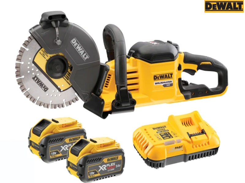 DCS690X2 FlexVolt XR Cordless Cut Off Saw 18/54V 2 x 9.0/3.0