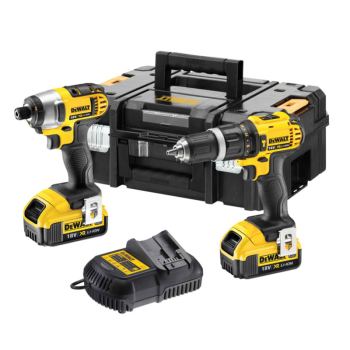 DCZ285M2 Combi Drill & Impact Driver Twin Pack 18V 2 x 4.0Ah