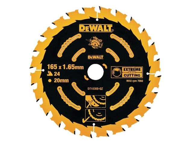 Extreme Framing Circular Saw Blade 165 x 20mm x 24T
