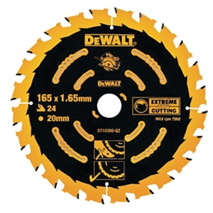 Extreme Framing Circular Saw Blade 165 x 20mm x 40T