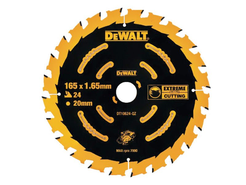 Cordless Extreme Framing Circu lar Saw Blade 165 x 20mm x 24T