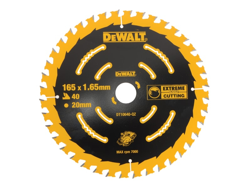 Cordless Extreme Framing Circu lar Saw Blade 165 x 20mm x 40T