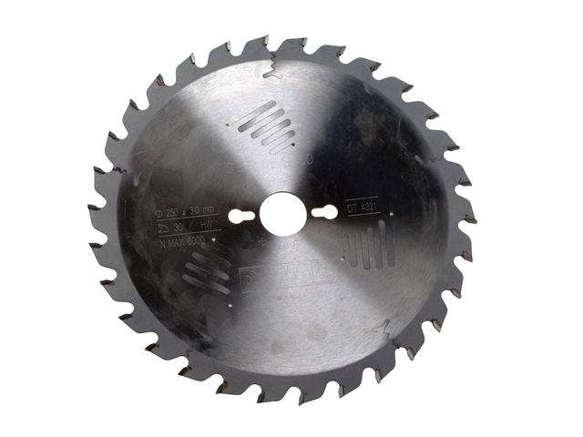 Series 60 Circular Saw Blade 250 x 30mm x 30T