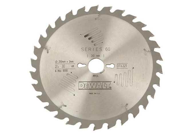 Series 60 Circular Saw Blade 250 x 30mm x 40T