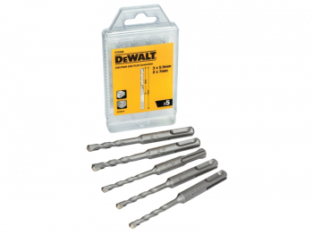 DT9398 SDS Plus Drill Bit Set, 5 Piece