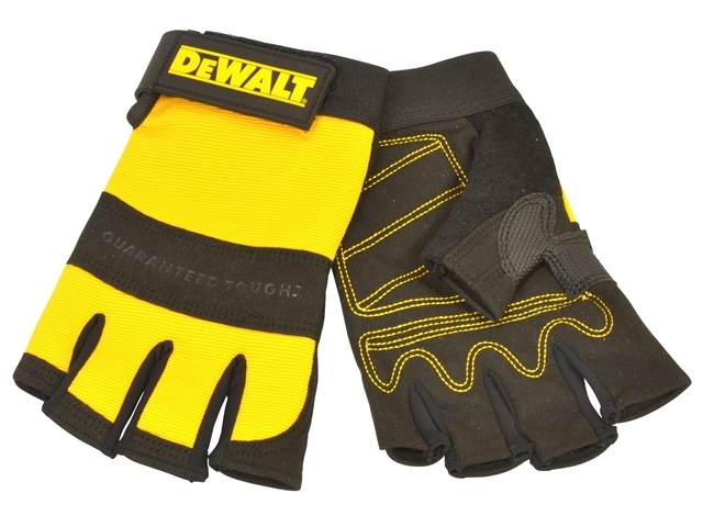 1/2 Synthetic Padded Leather Palm Gloves