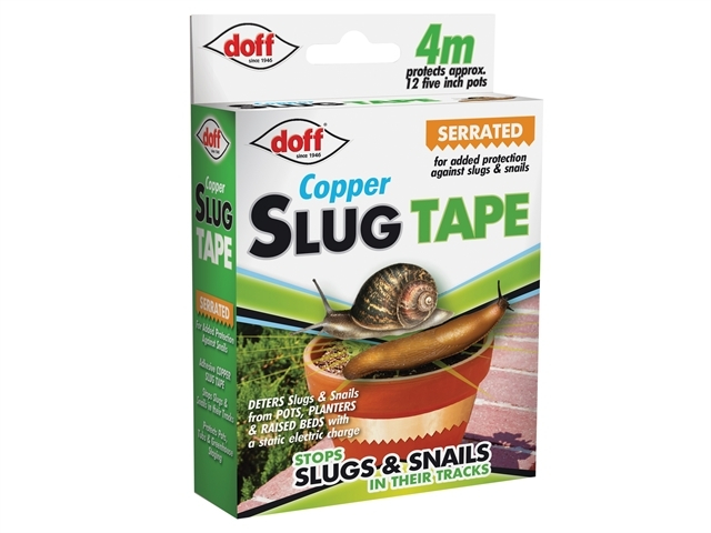 Slug & Snail Adhesive Copper Tape - CDU 4M