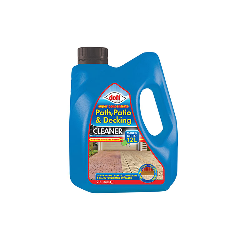 Super Strength Path Patio & De cking Cleaner Concentrate 2.5
