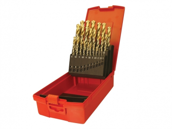 A095 Set 202 A002 HSS TiN Coat ed Jobber Drill Set of 51 1.0-
