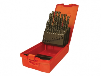 A190 No.204 Metric HSS Drill Set of 25 1.0-13.0 x 0.5mm
