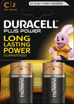 C Cell Plus Power R14B/LR14 Batteries (Pack 2)