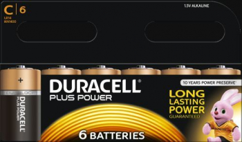 C Cell Plus Power R14B/LR14 Batteries (Pack 6)
