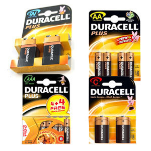 D Cell Ultra Power Batteries (Pack 2)