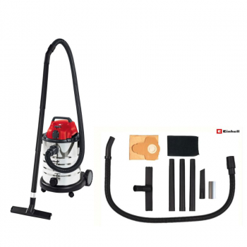 TE-VC 1930 SA Wet & Dry Vacuum With Power Take Off 30 Litre
