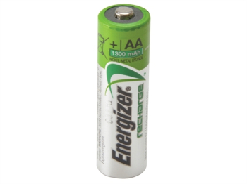 Recharge Universal AA Batteries 1300 mAh (Pack 4)