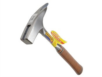 E239MS Roofers Pick Hammer Smooth Face - Leather Grip