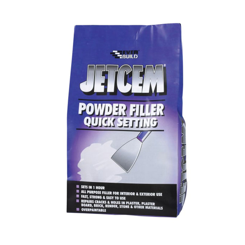 Jetcem Quick Set Powder Filler (Single 3kg Pack)