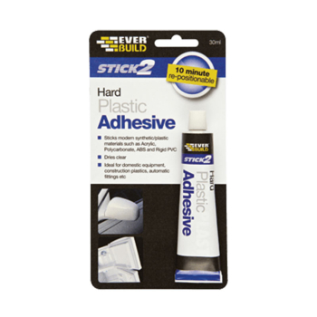 STICK2 Hard Plastic Adhesive 30ml