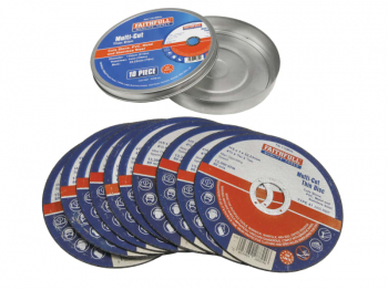 Multi-Purpose Cutting Discs 115 x 1.0 x 22.23mm (Pack 10)