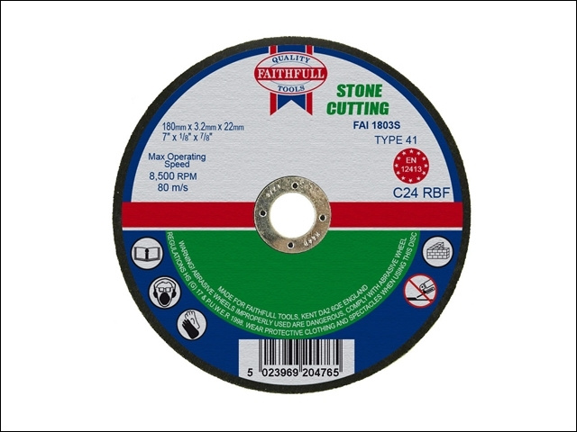 Stone Cut Off Disc 180 x 3.2 x 22mm