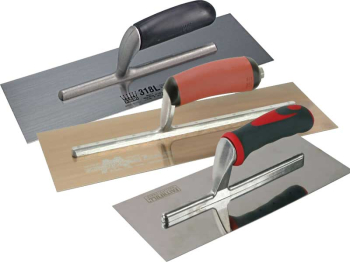 821 Plasterer's Trowel Wooden Handle 11 x 4.3/4in