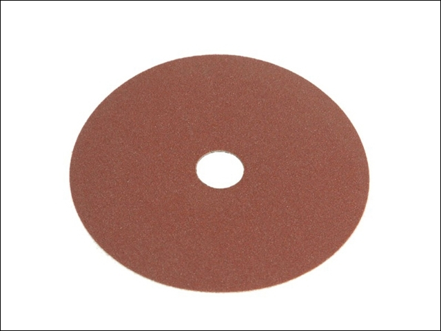 Resin Bonded Fibre Disc 115mm x 22mm x 24g (Pack of 25)