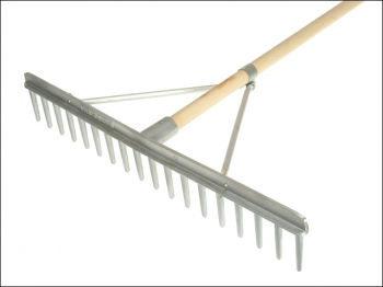 Aluminium Landscape Rake Complete With Handle