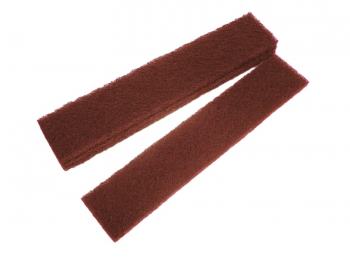 Abrasive Plumb Strips Maroon Assorted 50 x 250mm (6)