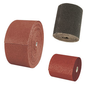 Aluminium Oxide Sanding Paper Roll Red 1m Hook & Loop Medium